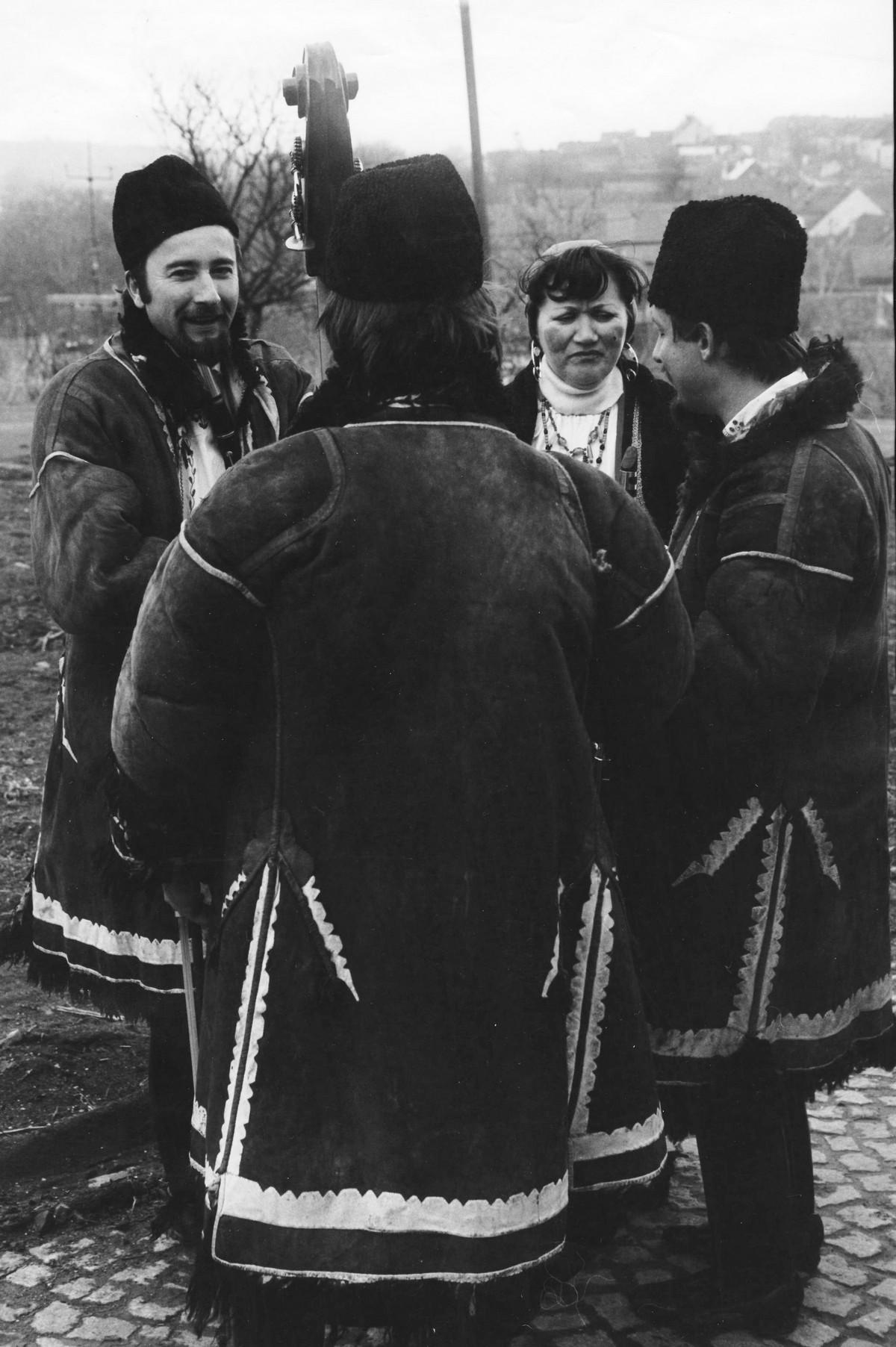 Fašank Ostrožská Lhota 1984